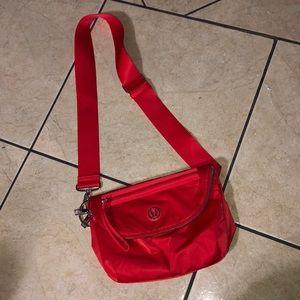 LULULEMON Festival Red Bag